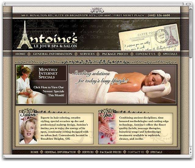Antoine's Le Jour Spa & Salon