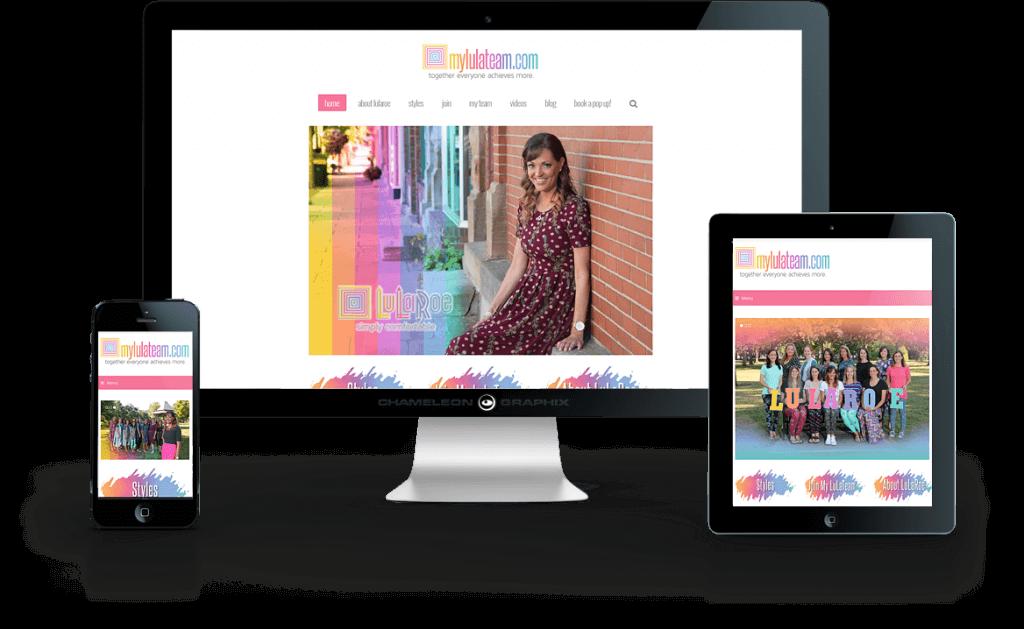 MyLulaTeam.com web design
