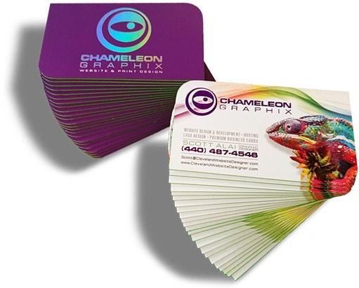 Business card design company