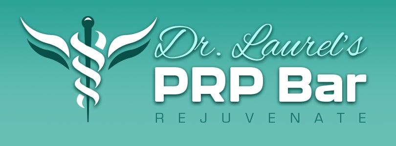 Dr. Laurels PRP Bar Logo Design
